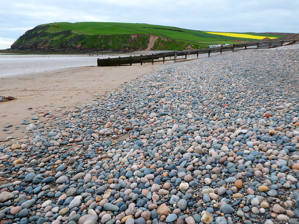 St Bees head and beach
