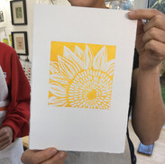 9 February 2019 - Introduction to linocut printing