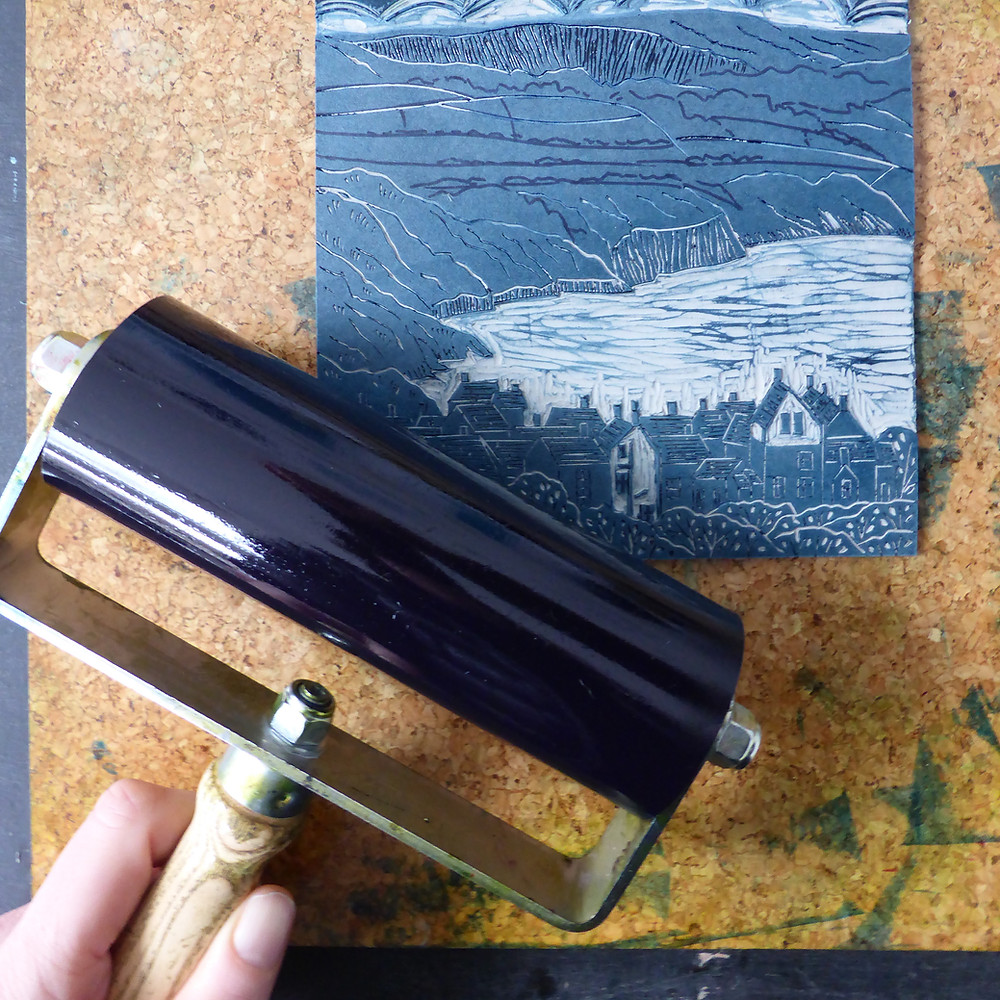 Hawthorn Printmakers student rollers