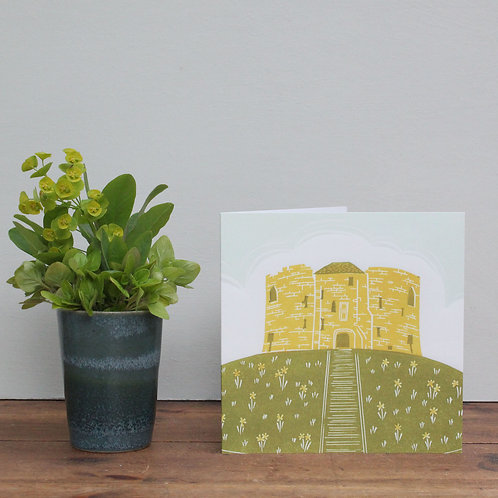 Pack of 4 greetings cards - Clifford's Tower
