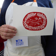 September 2018  - Introduction to linocut printing