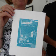 August 2017 - Introduction to linocut printing