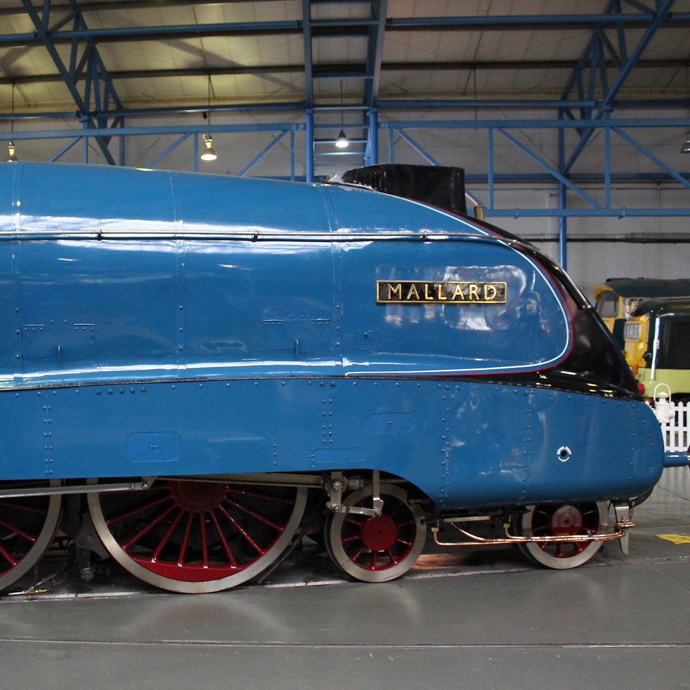 LNER Class A4 4468 Mallard steam train