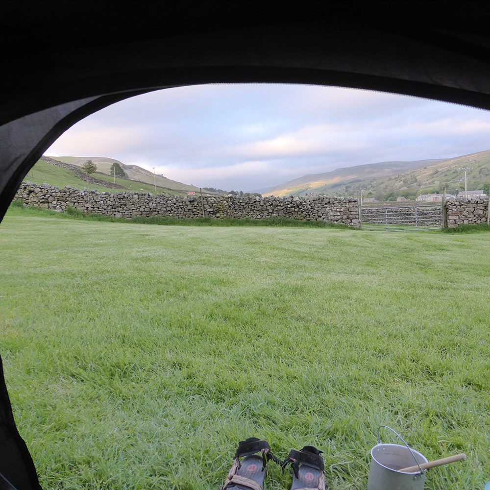 Usha Gap camp site, Muker, Swaledale