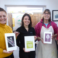 2 February 2019  - Introduction to linocut printing