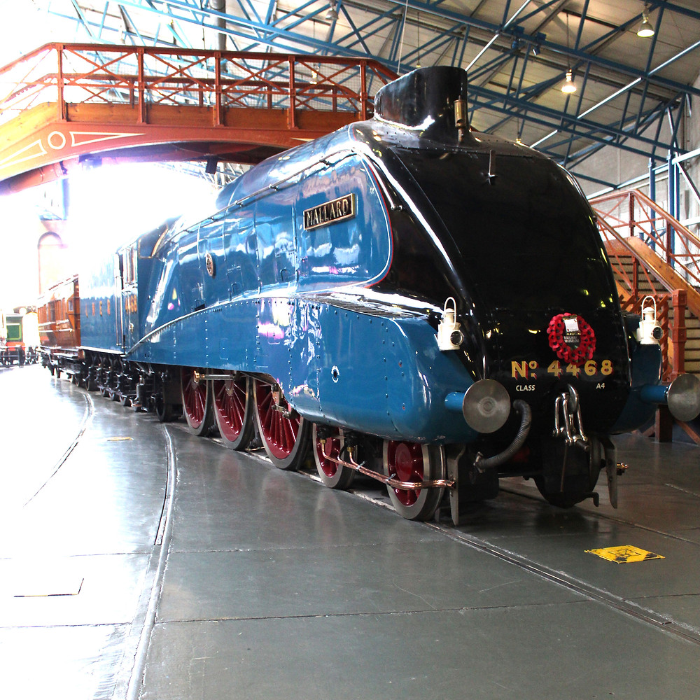 LNER Class A4 4468 Mallard steam locomotive
