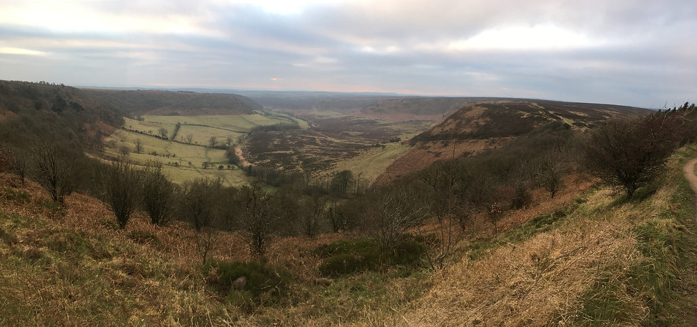 View of the Hole of Horcum, North York Moors National Park