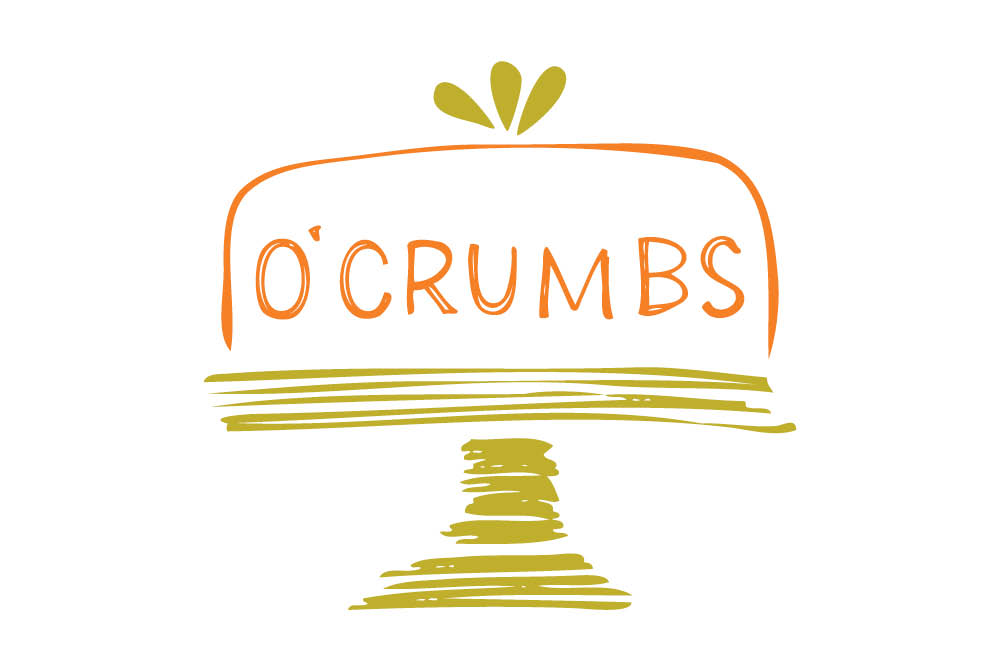 O'Crumbs Bakes logo and branding