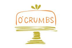 O'Crumbs Bakes logo and branding