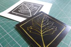 Hawthorn Printmaking Supplies linocut logo