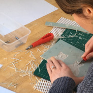 10 February 2019 - Introduction to linocut printing