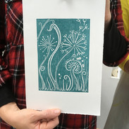 30 September 2019 - Introduction to linocut printing