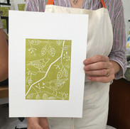 20 May 2019- Introduction to linocut printing