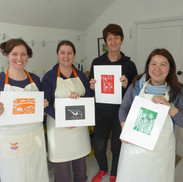 March 2018 - Introduction to linocut printing