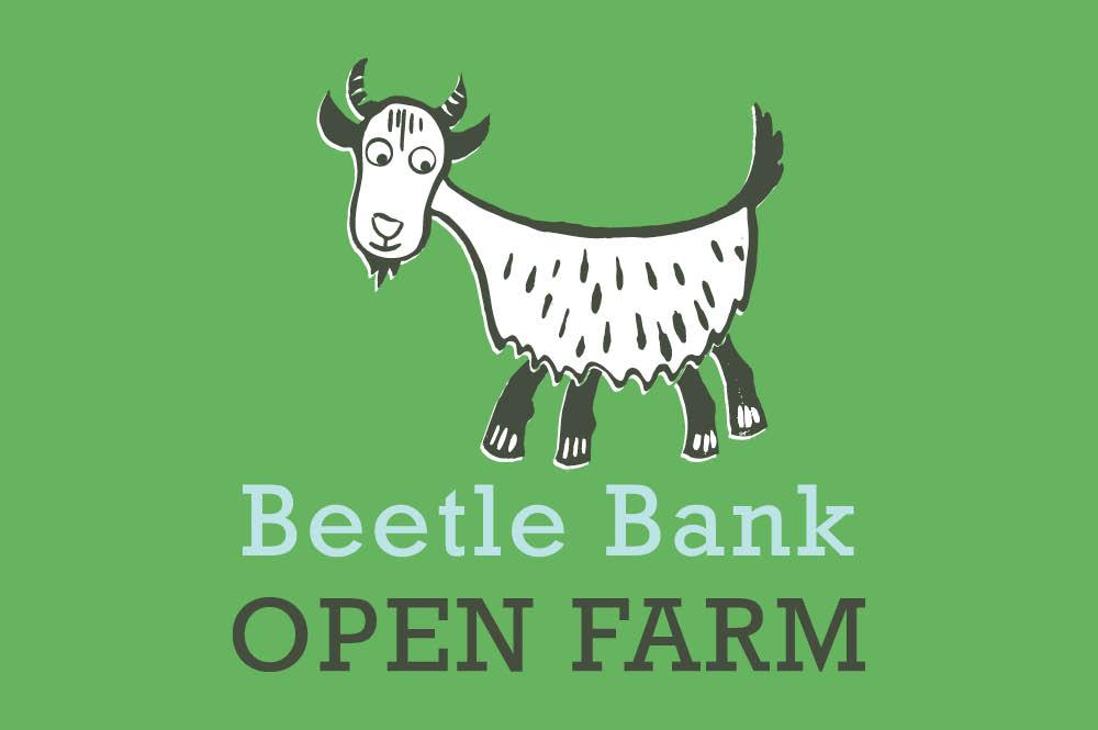 Beetle Bank Open Farm branding