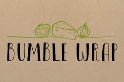 Bumble Wrap logo and branding