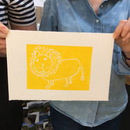 22 June 2019  - Introduction to linocut printing