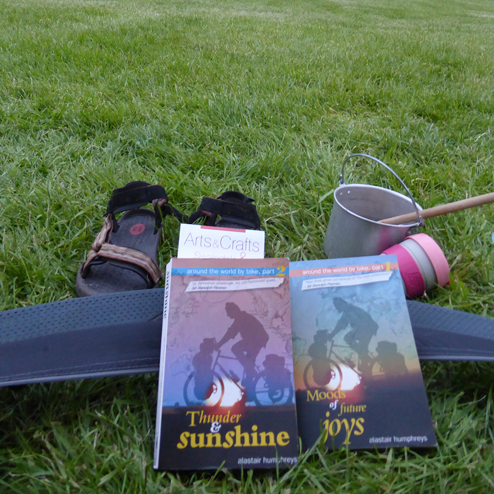 'Thunder and Sunshine' and 'Moods of Joys' by Alastair Humphreys