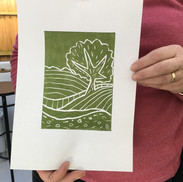 9 March 2019 - Introduction to linocut printing
