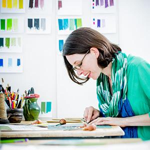 Michelle Hughes studio