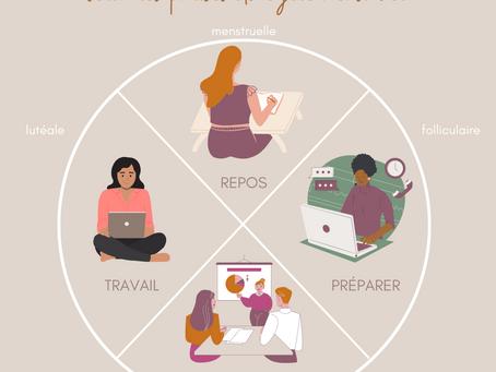 Travailler selon ses cycles menstruels