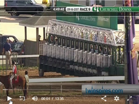 Grace's Treasure Wins Open Mind Stakes