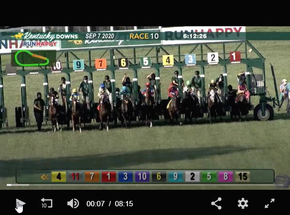 More than Ready Juvenile Stakes Replay