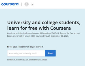 @ Free Coursera Courses for Students
