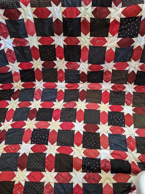 Black & Red Stars