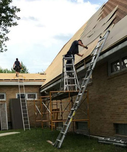 New roof at Immanuel