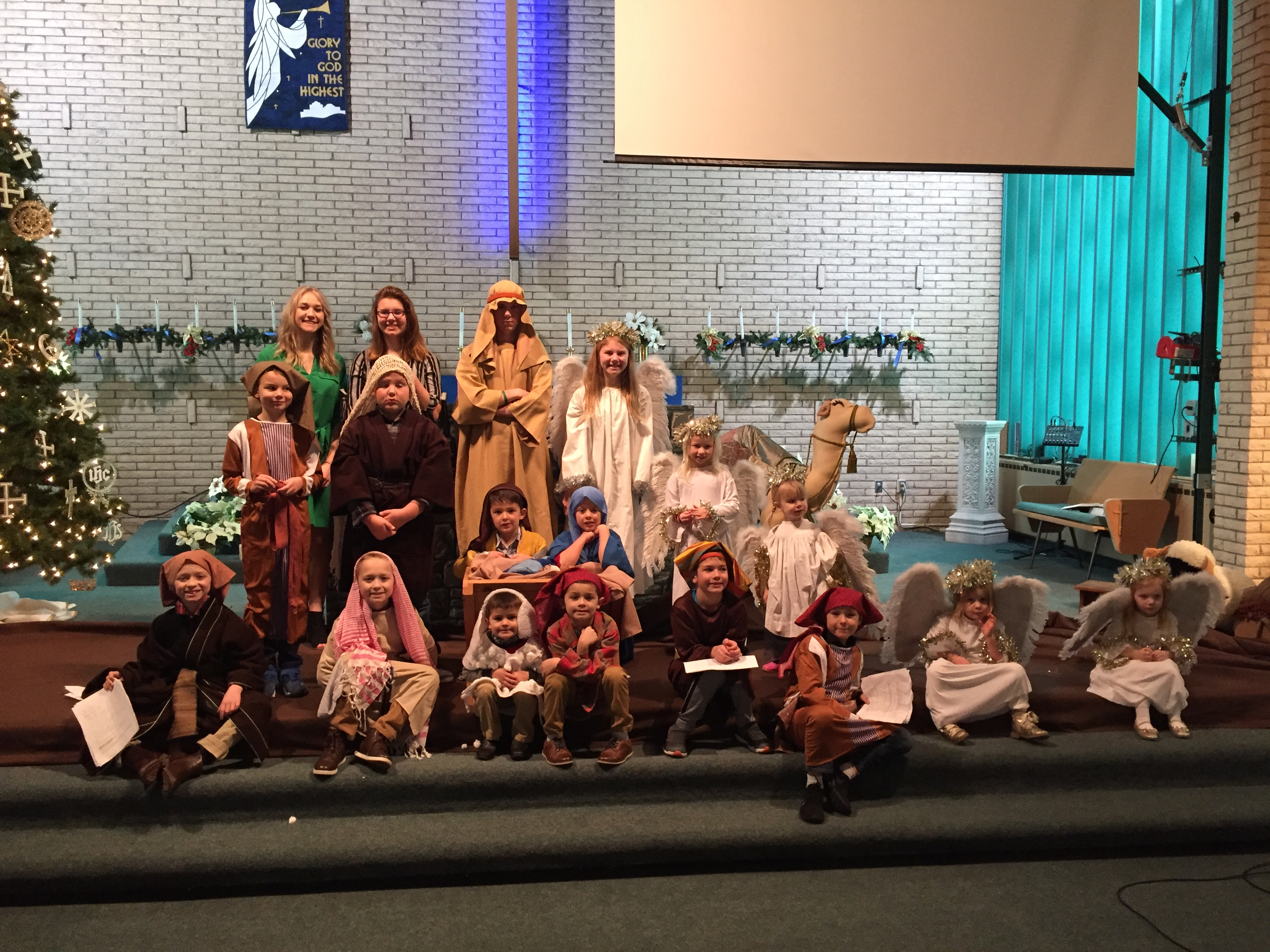 Christmas Pageant at Halstad