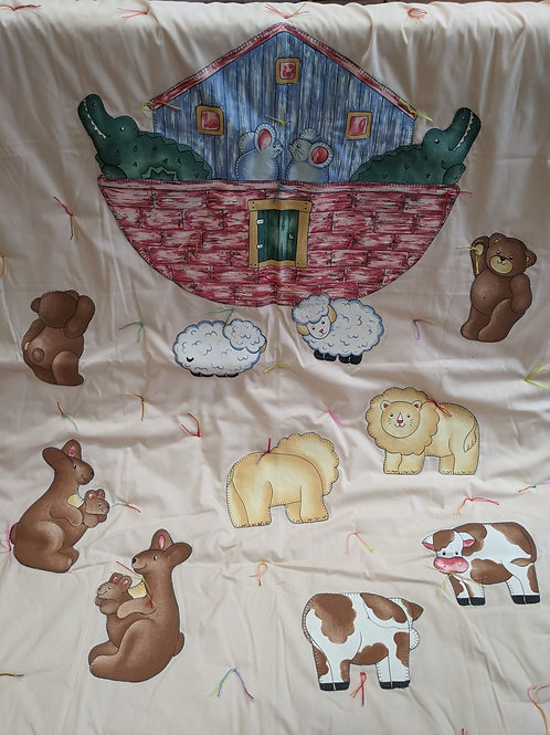 Noah's Ark Applique
