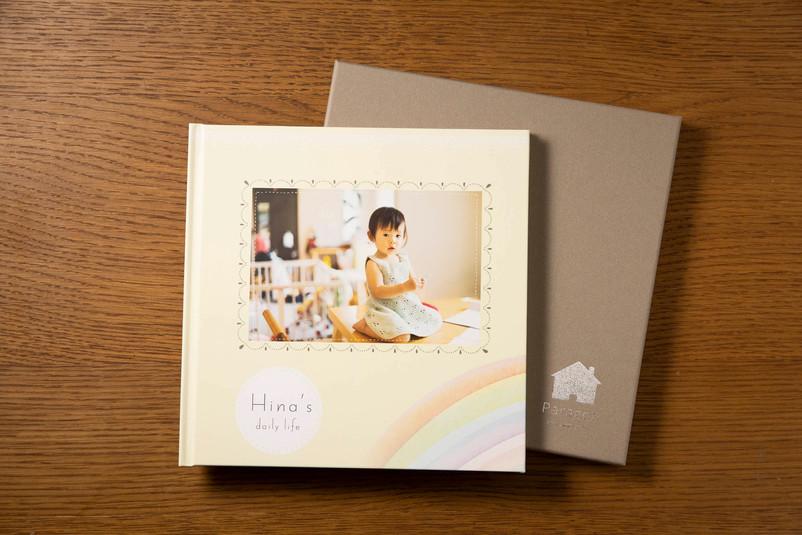 三面アルバムと専用化粧箱