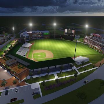 Design for a baseball stadium renovation