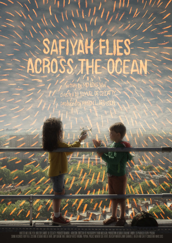 Safiyah Flies Across The Ocean