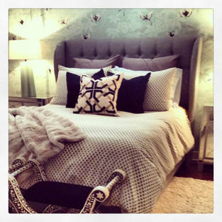 Master Bedroom Glam