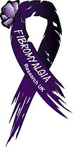 Fibromyalgia research UK with butterfly.