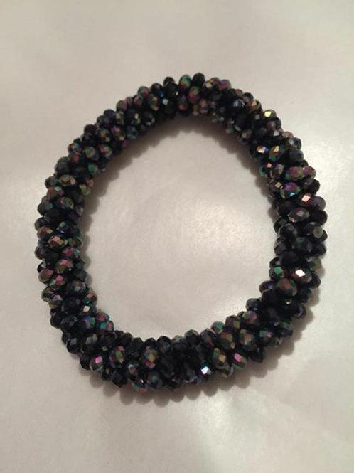 Black glitter bracelet