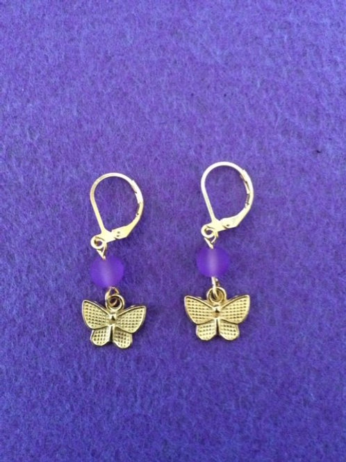 Mini Butterfly Earings