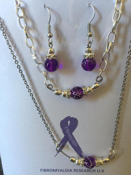 3 piece ladies jewellery set