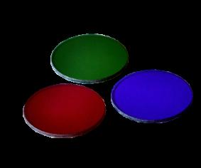 Lot de 3 filtres en verre (RVB)