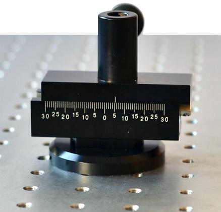 Pied magnétique à réglage latéral rapide