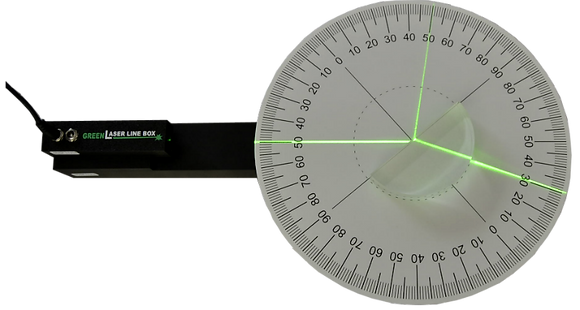 Kit réflexion-réfraction au laser