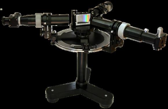 Spectrogoniomètre sur trépied