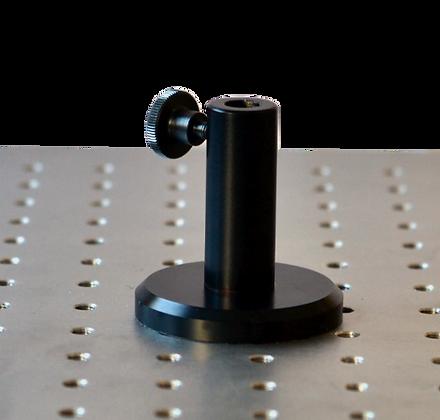Pied magnétique large