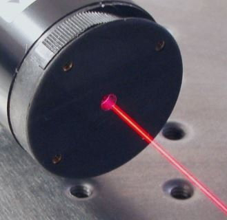 Laser He-Ne cylindrique 632.8nm Rouge