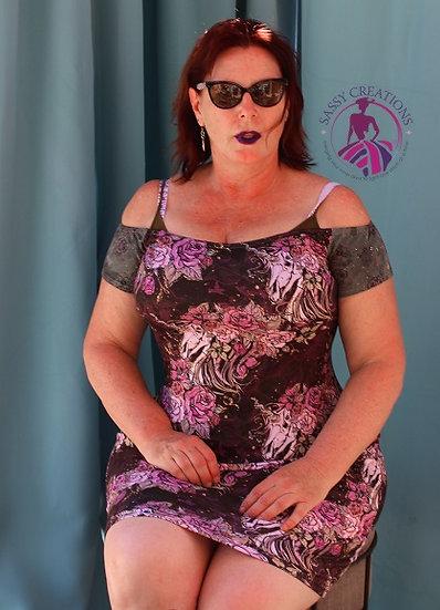 Purple Wiggle Dress