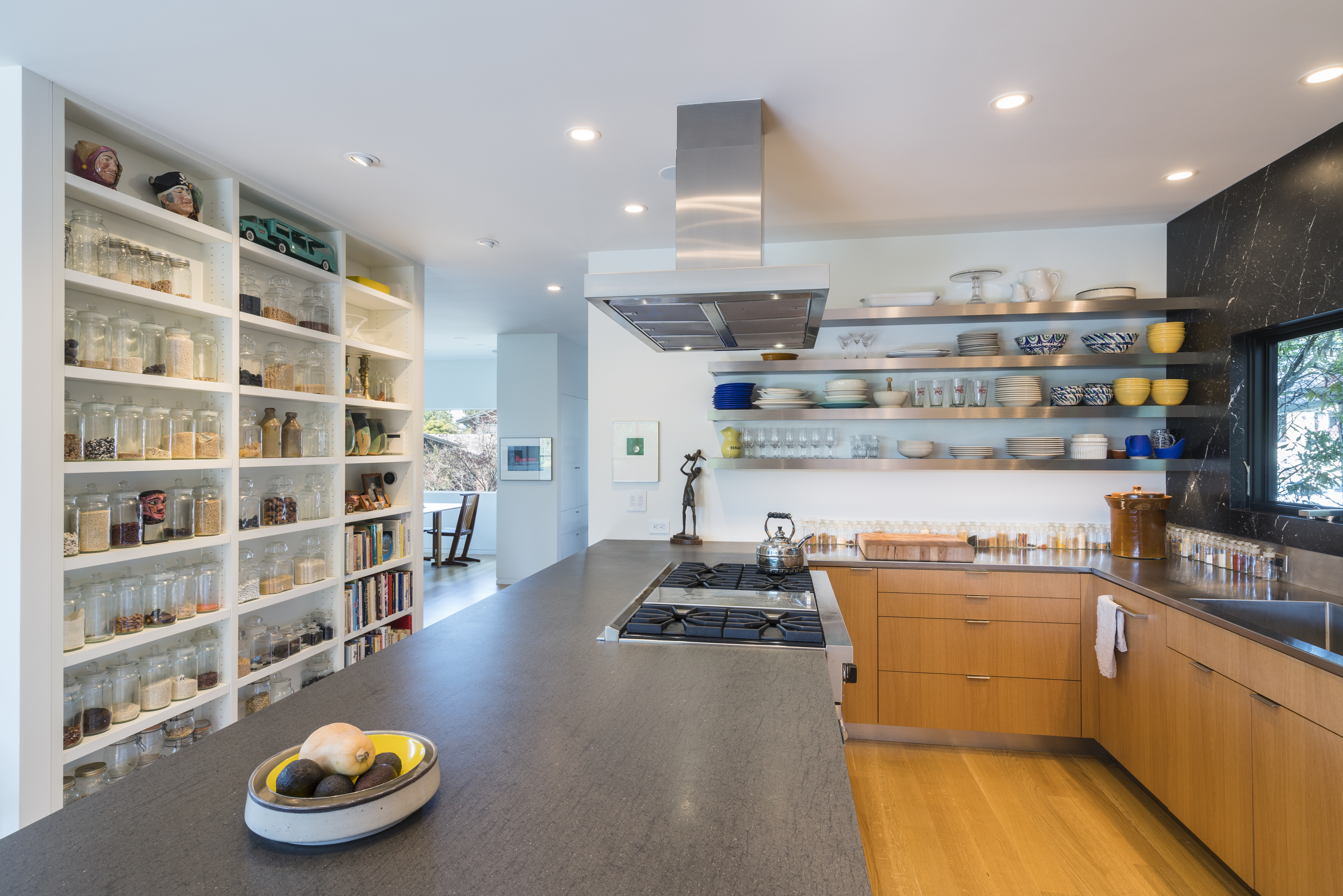 Kitchen remodel in modern style.