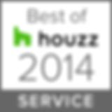 Best of houzz 2014 service badge