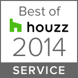 Best of houzz 2014 service badge